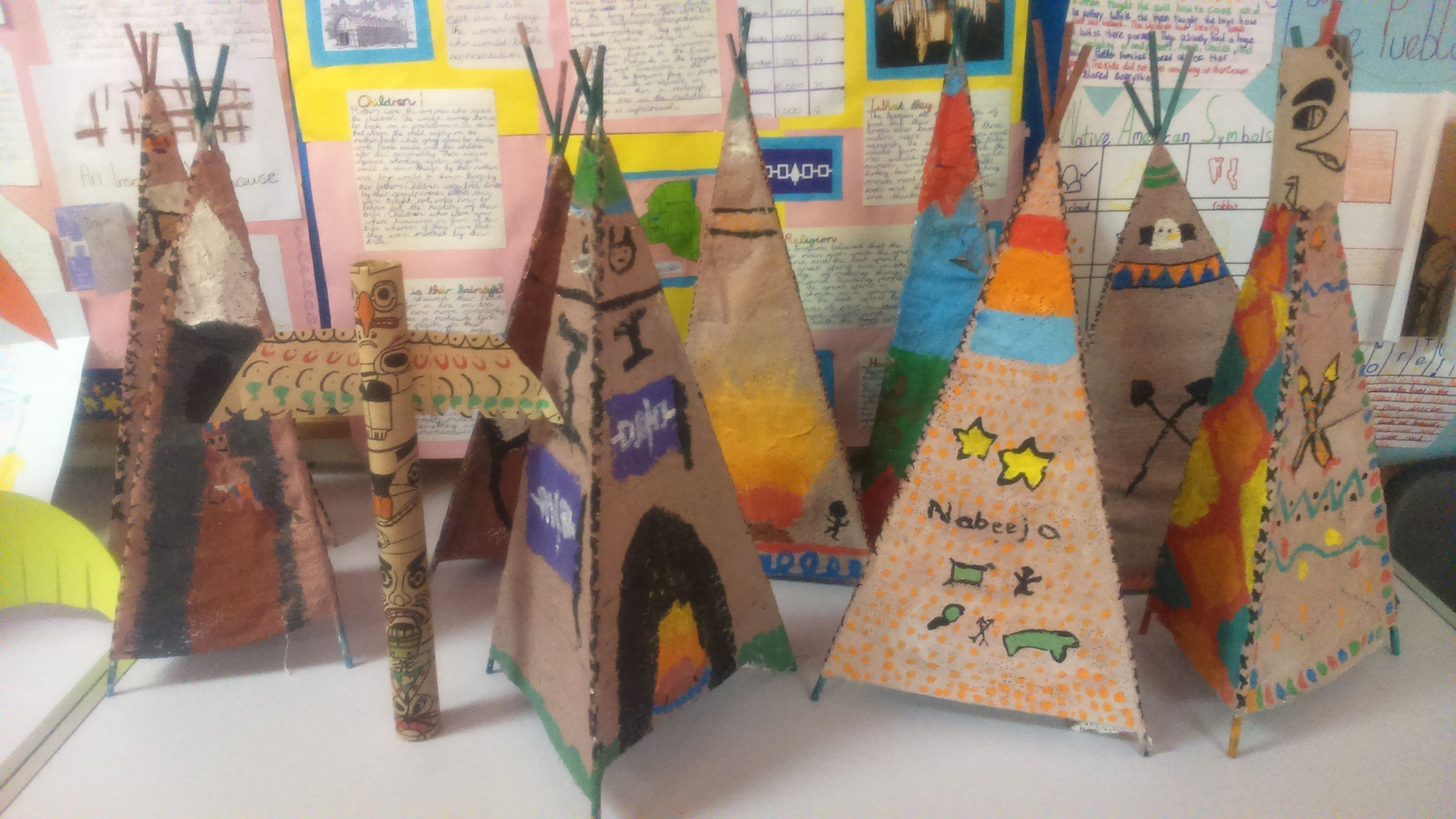 Image Result For School Totem Pole Project