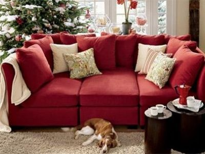 Favorite Pottery Barn Sofa On My Christmas List This Year But Not Red And With One More Center Chaise