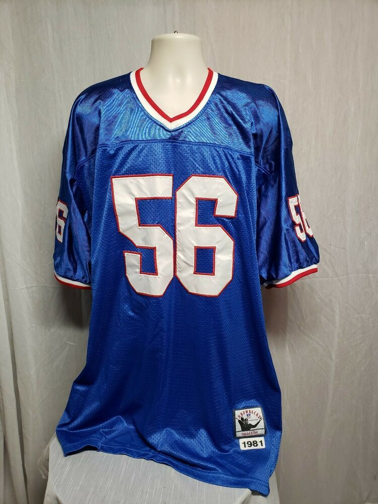 Mitchell & Ness NY Giants Lawrence Taylor 56 Mens Size 54