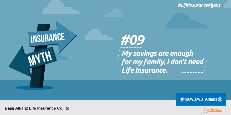 Fact: One should always have life insurance of some sort ...