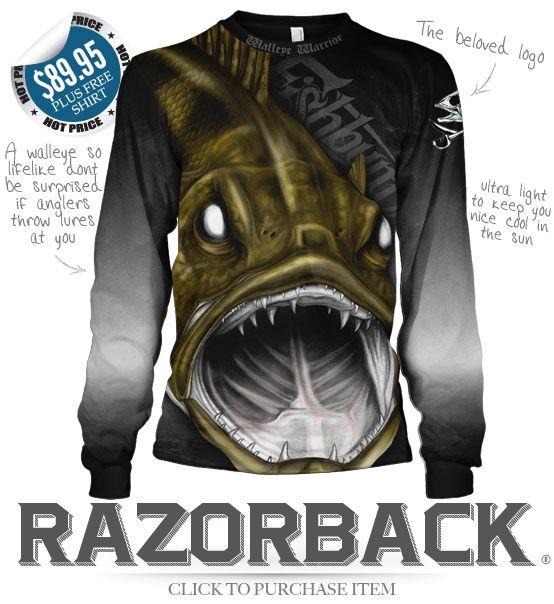 5f94d66256f FISHBUM Fishing Clothing Presents – Razorback Fishing Jersey ...