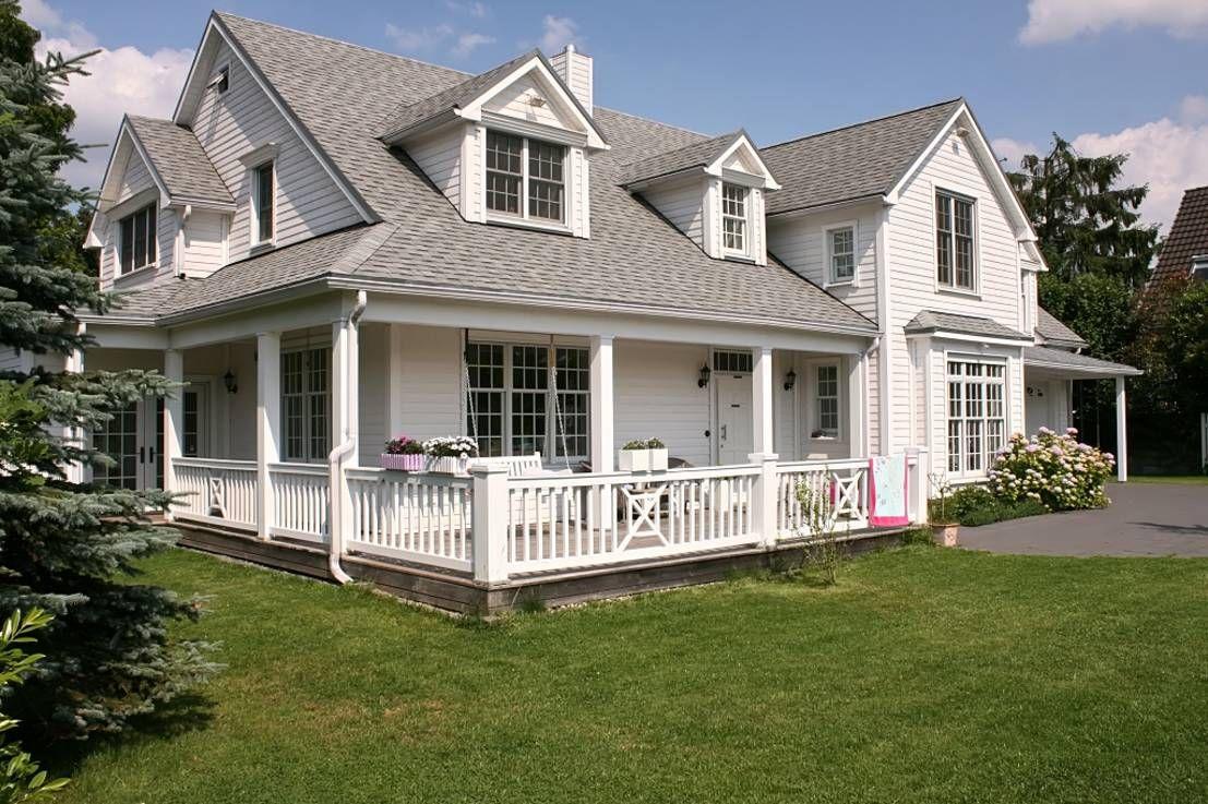 Holzhaus amerikanischer stil  Was macht ein Zuhause im amerikanischen Stil so besonders ...