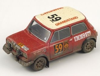1970 London to Mexico rally , die cast model
