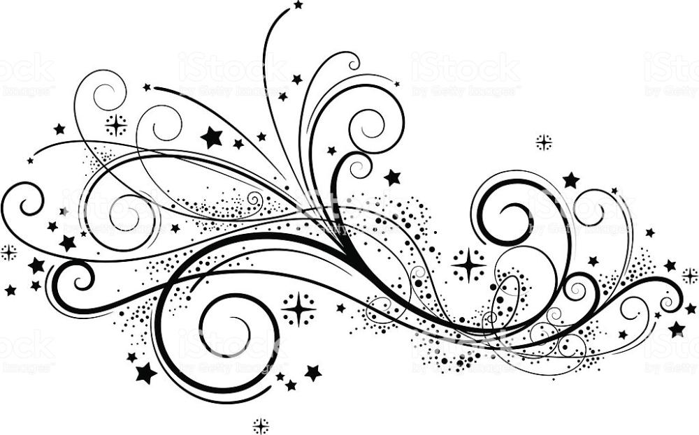 Fancy Swirls Royalty Free Swirl Pattern Stock Vector Swirl Tattoo Art Vector Art