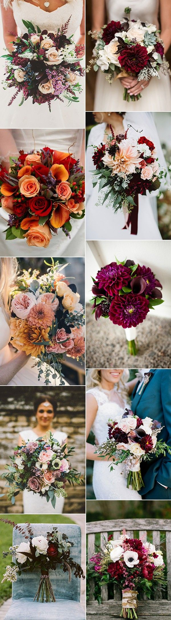 70 amazing fall wedding ideas for 2017 bouquet flowers for Autumn flower decoration