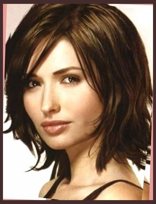 short hairstyles for round faces double chin – short haircuts for inside long