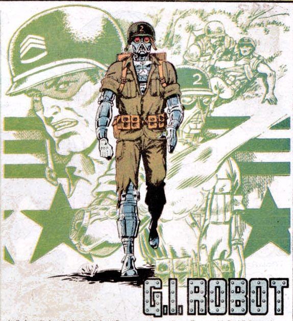 G.I. Robot   Custom action figures, War comics, Make a comic book