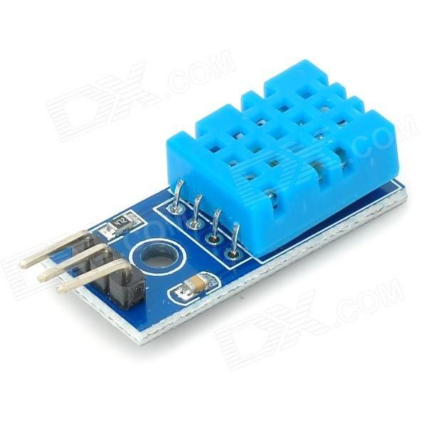 Temperature humidity sensor dht module for arduino