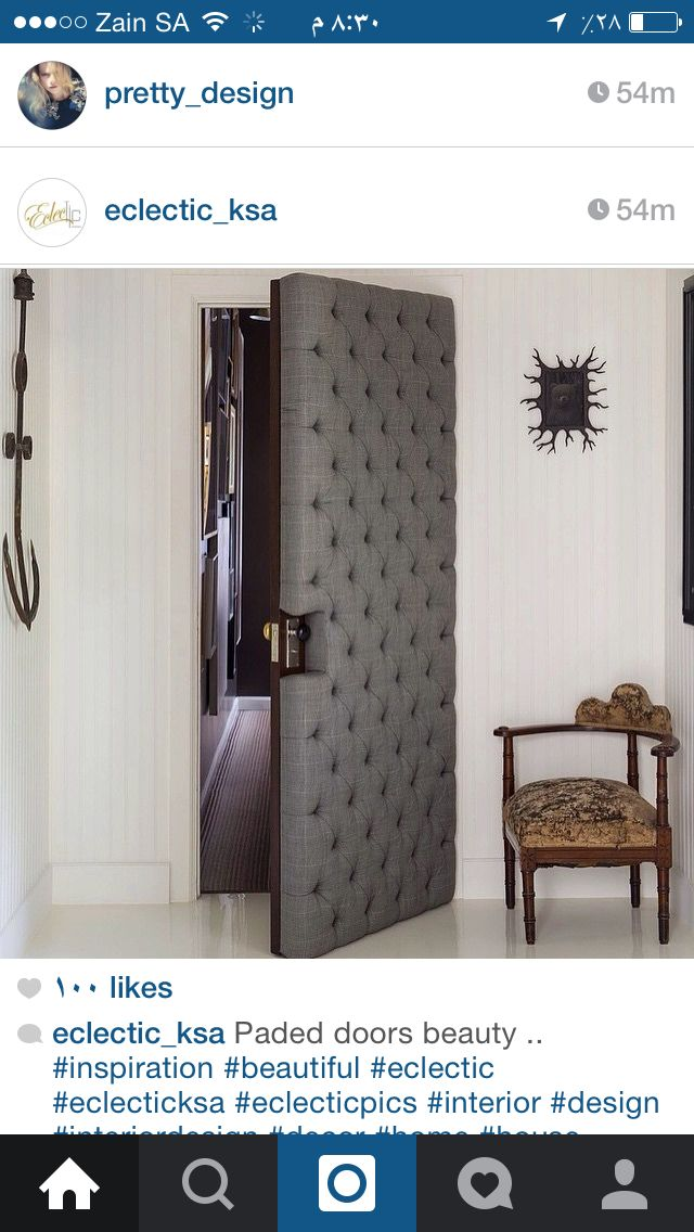 فكره جديدجه Design Sound Proofing Home Doors