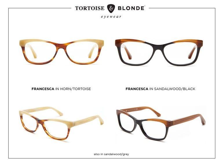 Tortoise & Blonde   Look Book   Buy Glasses Online