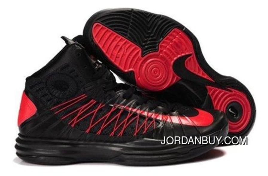 best service c4c77 b81eb ... new style nike lunar hyperdunk x 2012 james black red basketball shoes  4c186 bb2dc