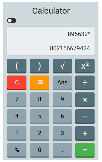 Add Nice Calculator App On Your Website Written In Bootstap4 Jquery Bootstap4 Jquery Calculator Latestblog Org Calculator App Calculator Jquery