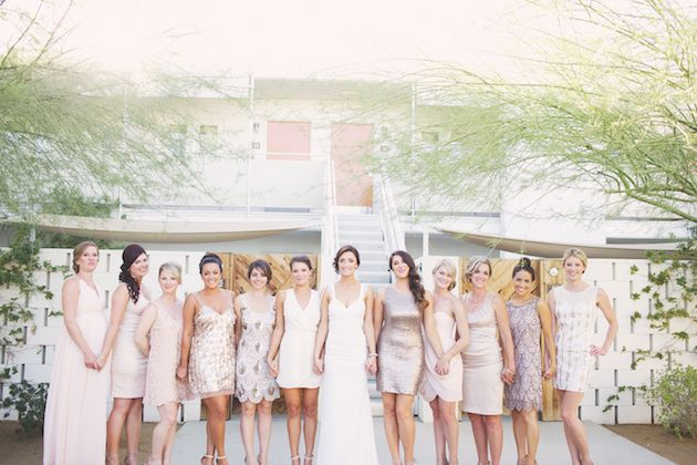 Cool Palm Springs Wedding at the Ace Hotel | Claire Eliza Photography | Bridal Musings Wedding Blog 13