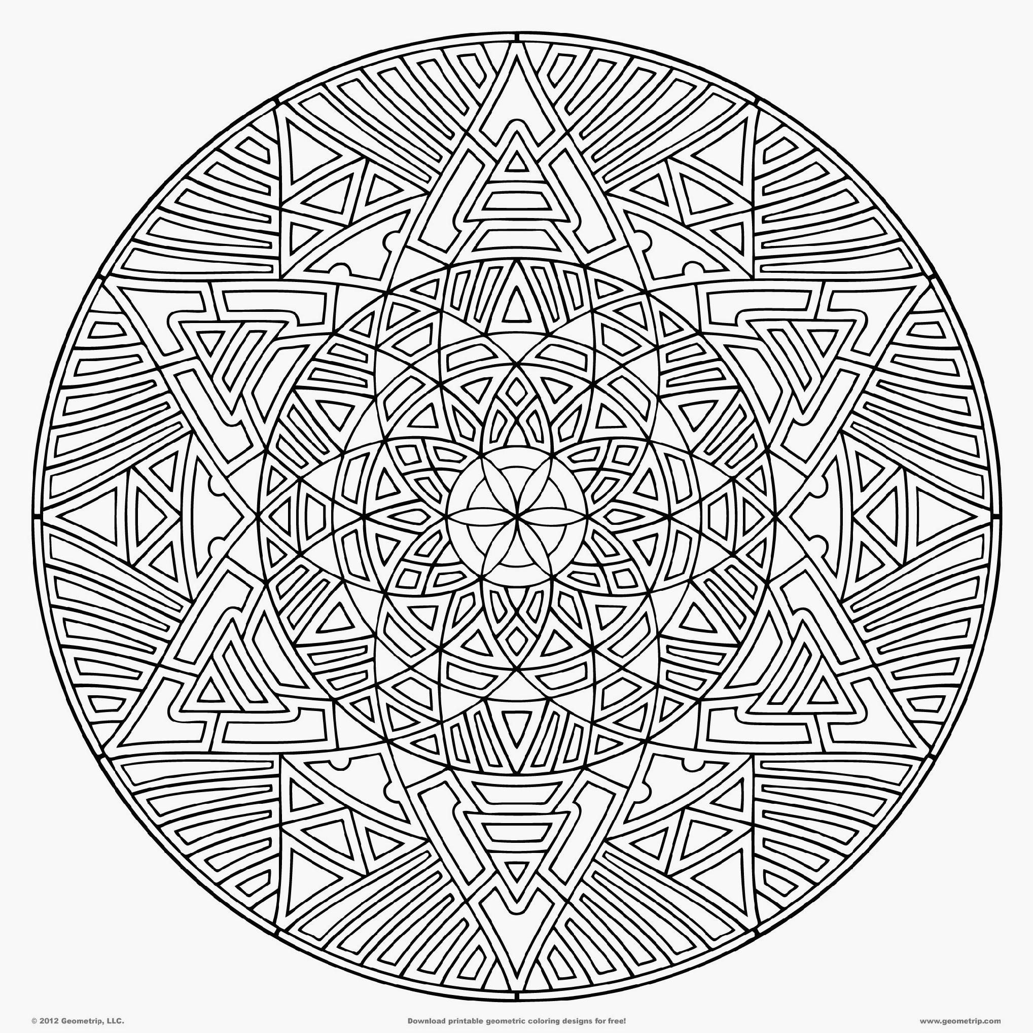 Really Hard Mandala Coloring Pages Food Ideas Geometric Coloring Pages Detailed Coloring Pages Abstract Coloring Pages