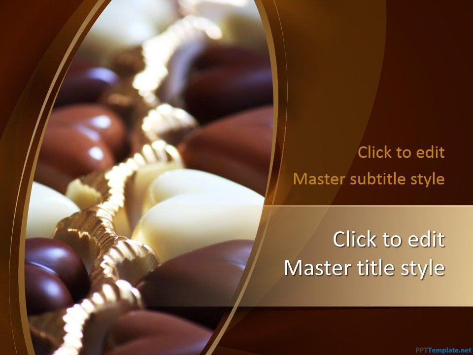 Free chocolate ppt template is a yummy theme the master slide free chocolate ppt template is a yummy theme the master slide contains a premium chocolate toneelgroepblik Gallery