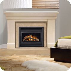 Cdv33 Direct Vent Gas Fireplace This Unit Is So Versatile It Can Be Installed Almost Anywhere Create A Cozy At