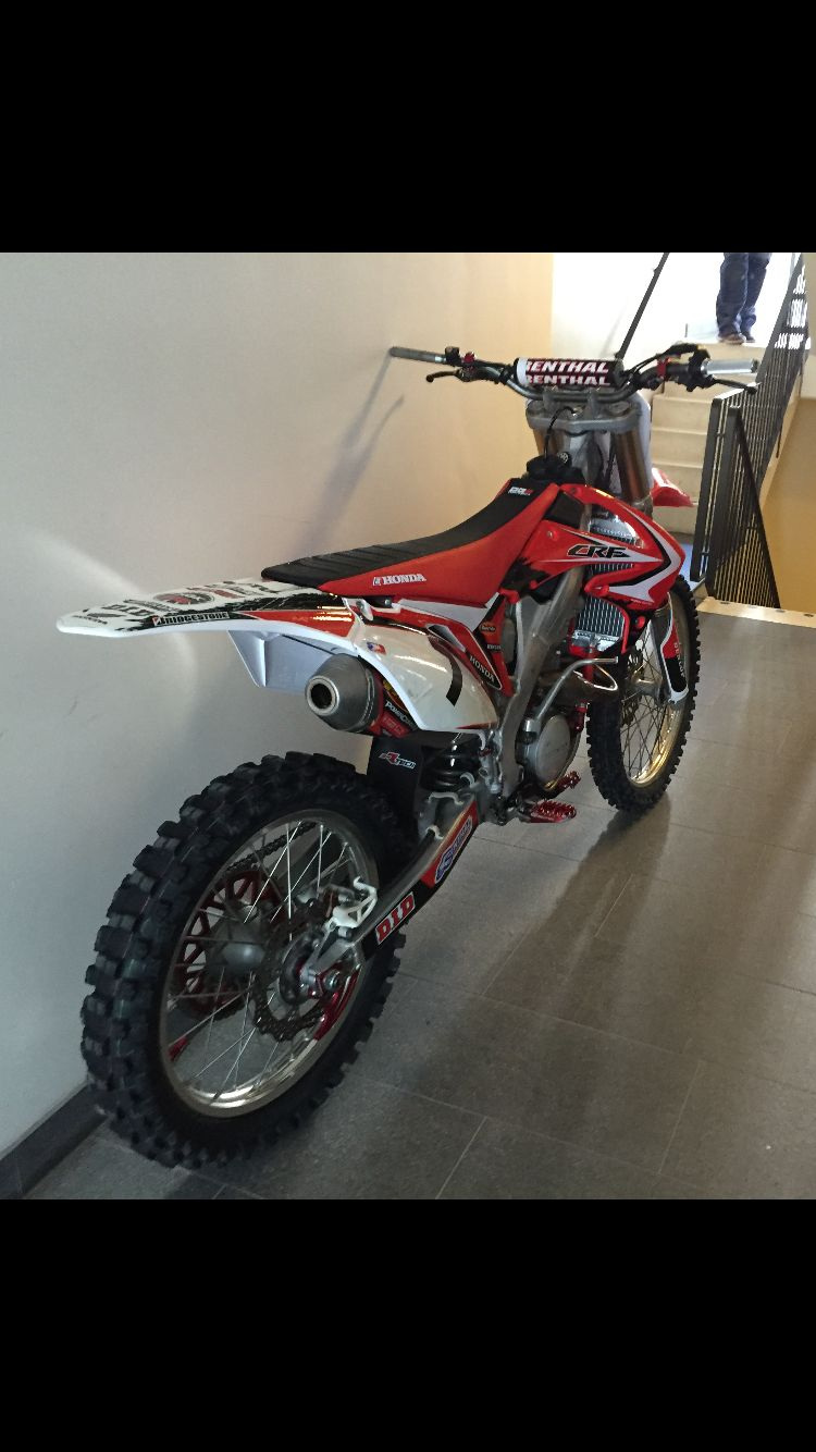 My Pimped Crf 250 Motorcross Bike Motocross Bikes Honda Dirt Bike