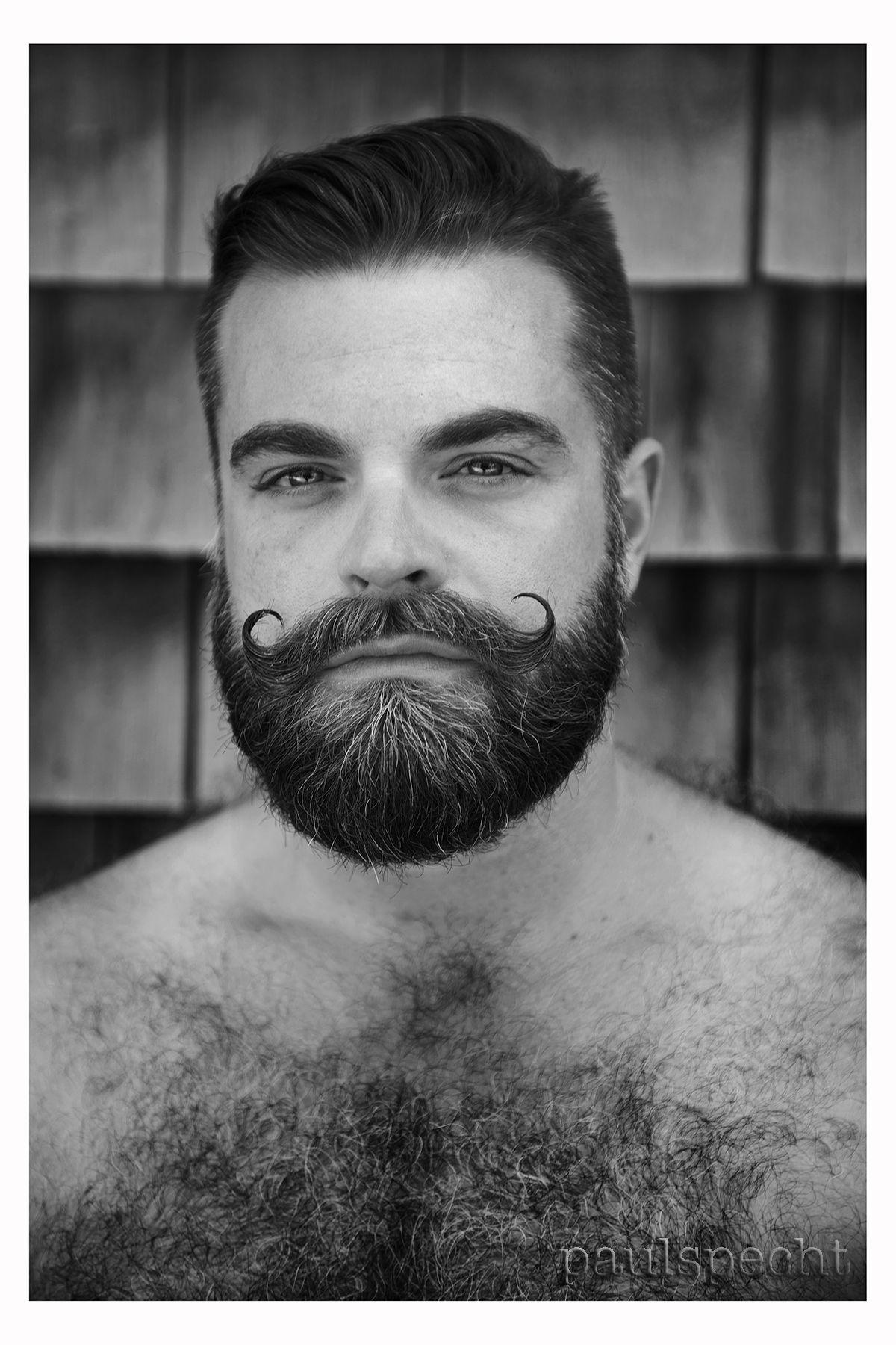 Semi long haircuts for men pugnacious  bigotes  pinterest  facial hair beard styles and men