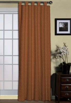 Jabong Style   This Check Styled Loop Curtain Could Also Go Well With The  Living Room