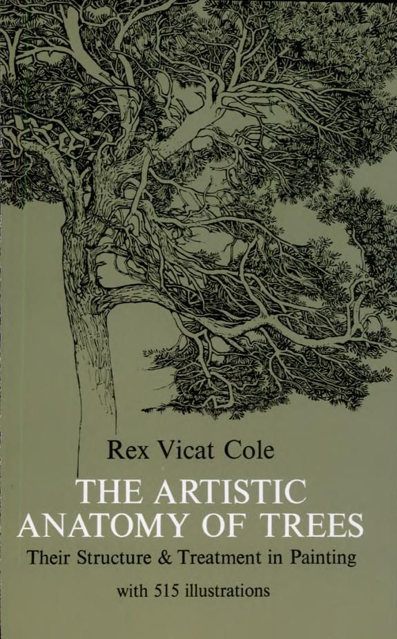 The Artistic Anatomy Of Trees From Dover Publications Art Room