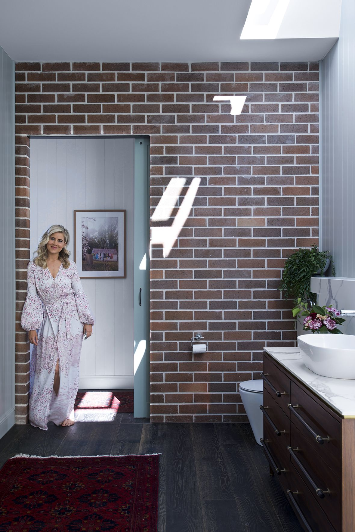 Tallebudgera Reno The Bathroom Reveal Duffy Mid Century And Modern - Renovating a bathroom what to do first