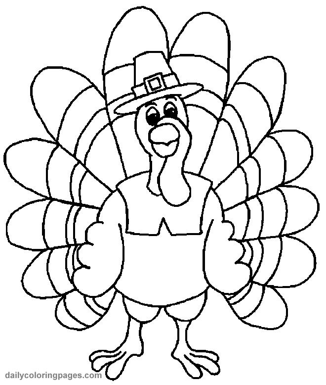 acción de gracias para colorear pavo 03 | Thanksgiving | Pinterest ...