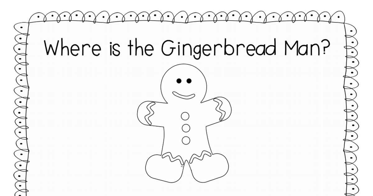Where is the Gingerbread Man 2.pdf Gingerbread man