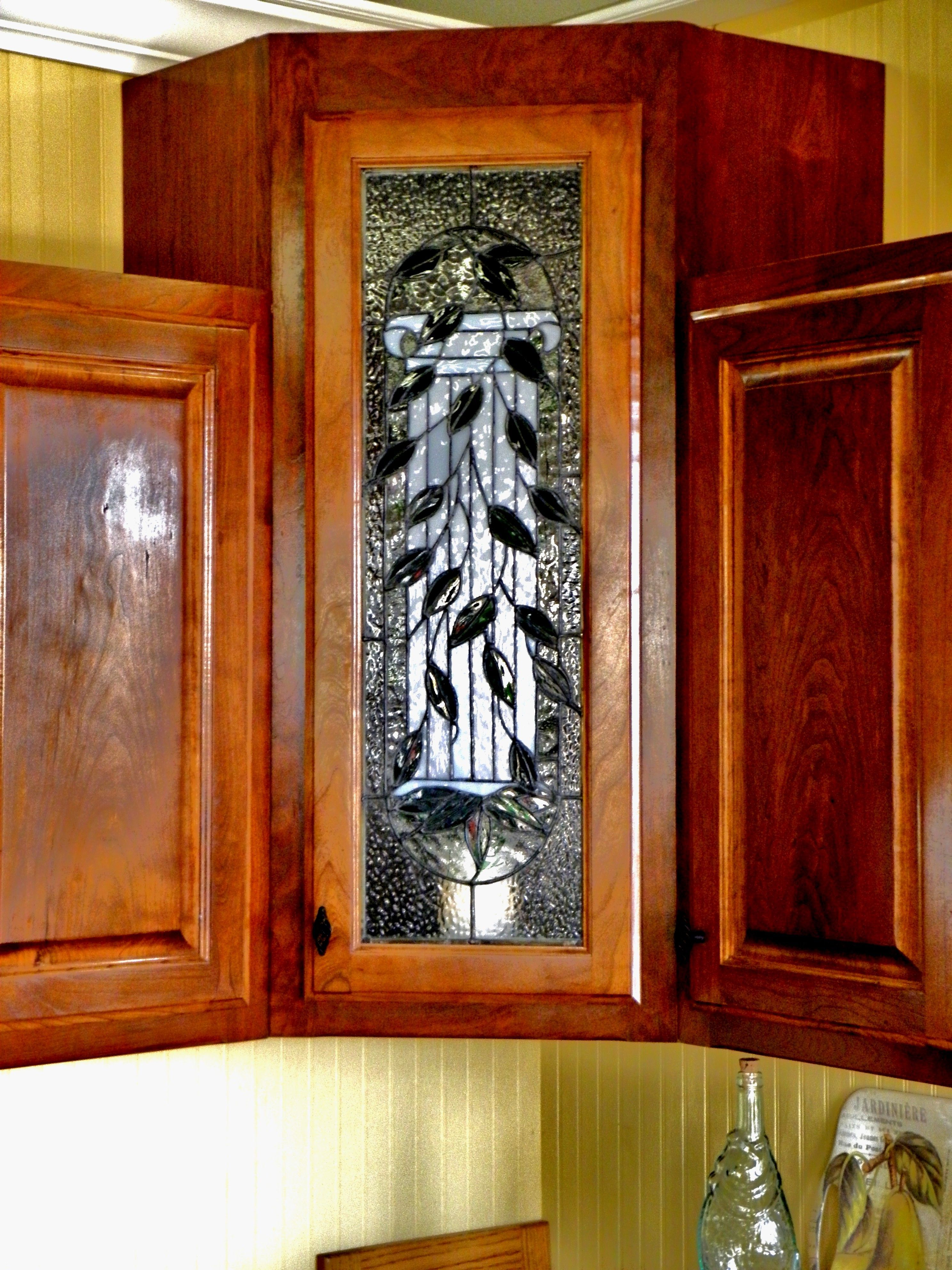 Ideas On Installing The Best Frosted Glass Cabinets In Your Kitchen Decor Around The World In 2020 Stained Glass Cabinets Cabinet Doors Glass Kitchen Cabinet Doors