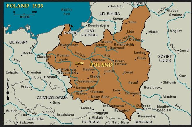 Poland Map Before Ww2 This is a map of Poland during WW2. This is important to the novel
