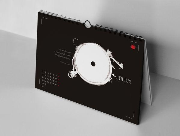 Haiku, fotogram calendar 2012 by Kiss József Gergely, via Behance