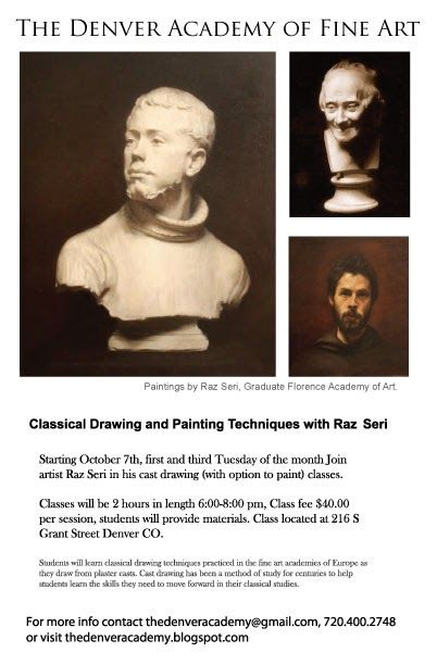 The Denver Academy Of Fine Art Is Teaching Classical Drawing And