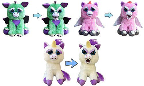 Feisty Pets Mystic Mischief 3 Pack Dragon Pegasus Unic Https Www Amazon Com Dp B072271f5m Ref Cm Sw R Pi Dp X Q0a Ybmwt3z8y Pets Plush Scary