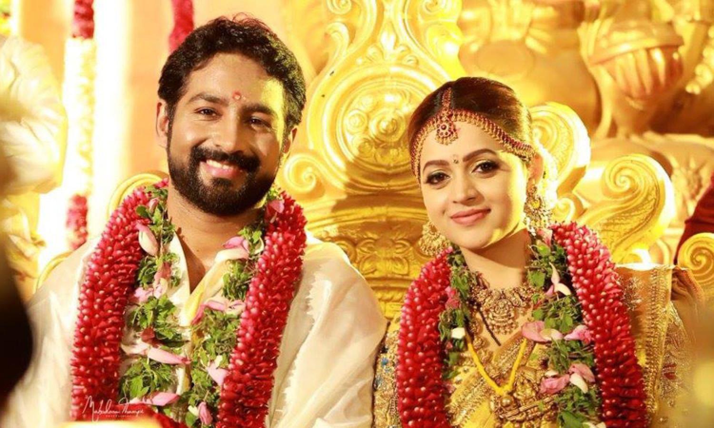 പിന്തുണച്ച എല്ലാവർക്കും നന്ദി ഭാവന South indian wedding