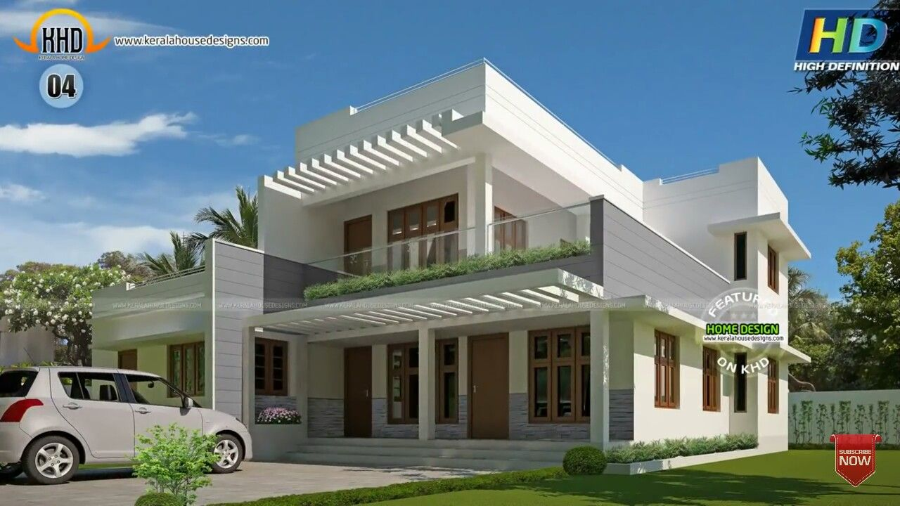 Ultra modern homes modern contemporary homes indian bedroom flat roof house kerala