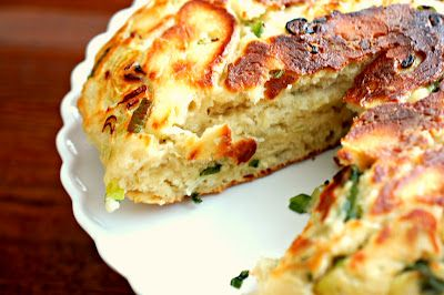 Eva Bakes - There's always room for dessert!: Large Chinese scallion pancake (蔥油大餅)