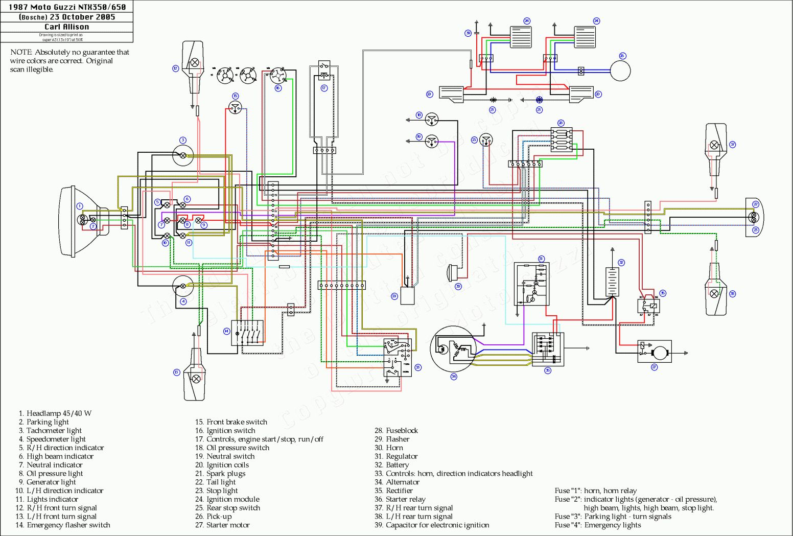 Yamaha Rs 100 Motorcycle Wiring Diagram And Moto Guzzi Wire Diagram Wiring Diagrams Motorcycle Wiring Electrical Wiring Diagram Electrical Diagram
