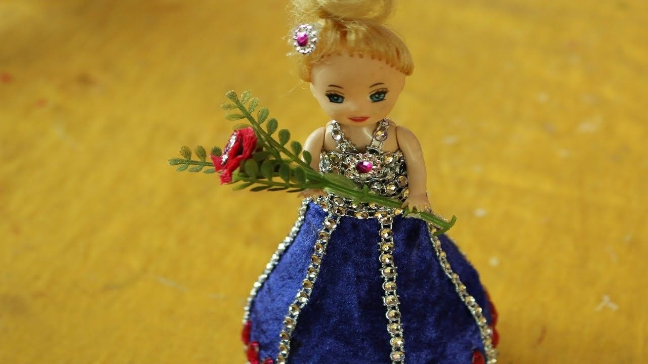 DIY Craft Ideas with Waste Material | Pinterest | Barbie doll ...