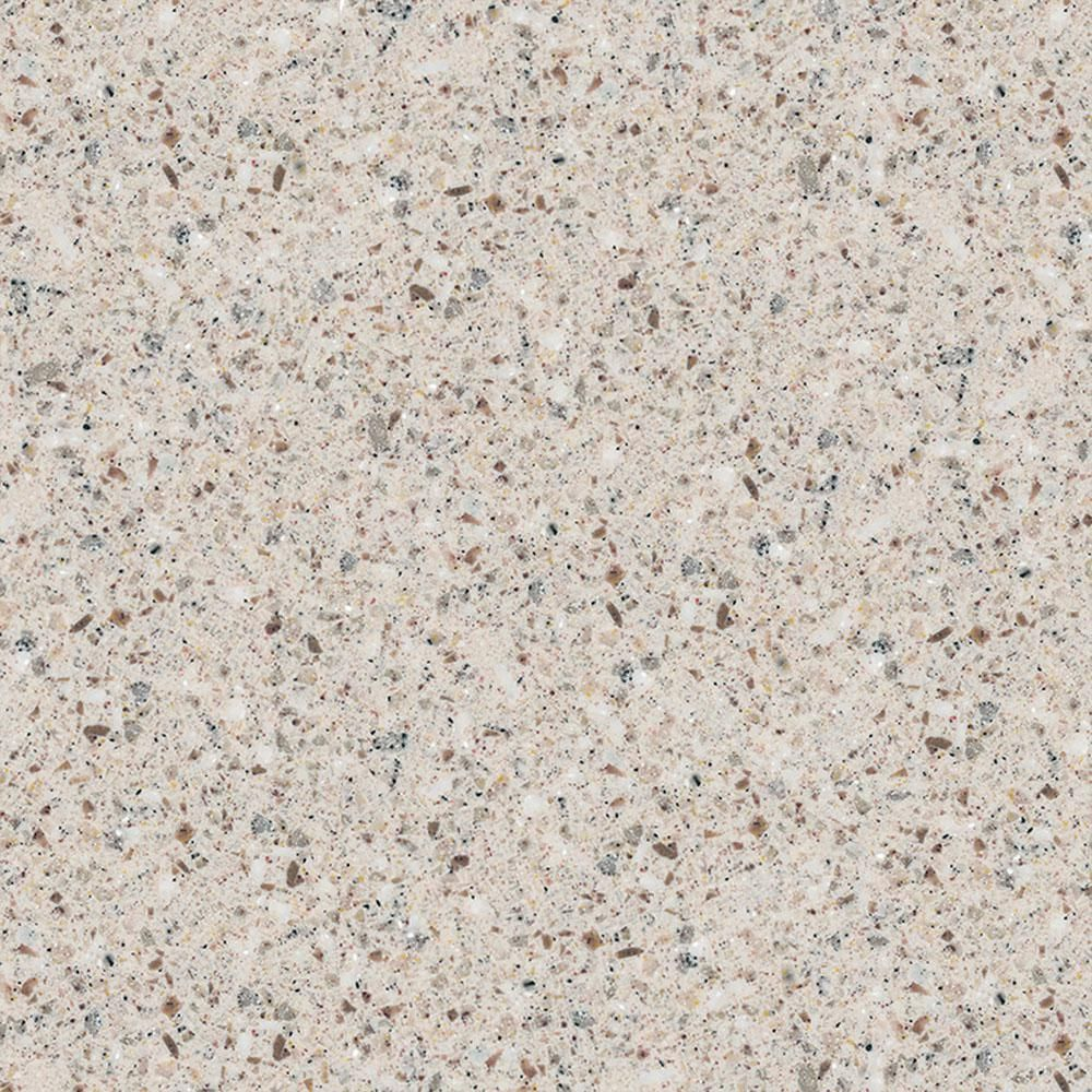 2 In Solid Surface Countertop Sample In Populus Solid Surface