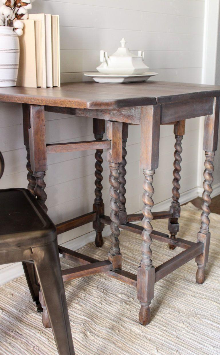 Driftwood Barley Twist Table - The Driftwood Home   furniture ...