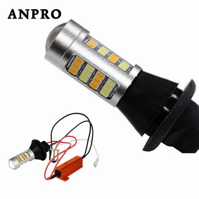 Car Light Ba15s Bau15s 1156 21w T20 7440 Day Light Daytime Running Light Turn Signal Lamp 12 24v Dual Mode Led Exte Car Lights External Lighting Running Lights