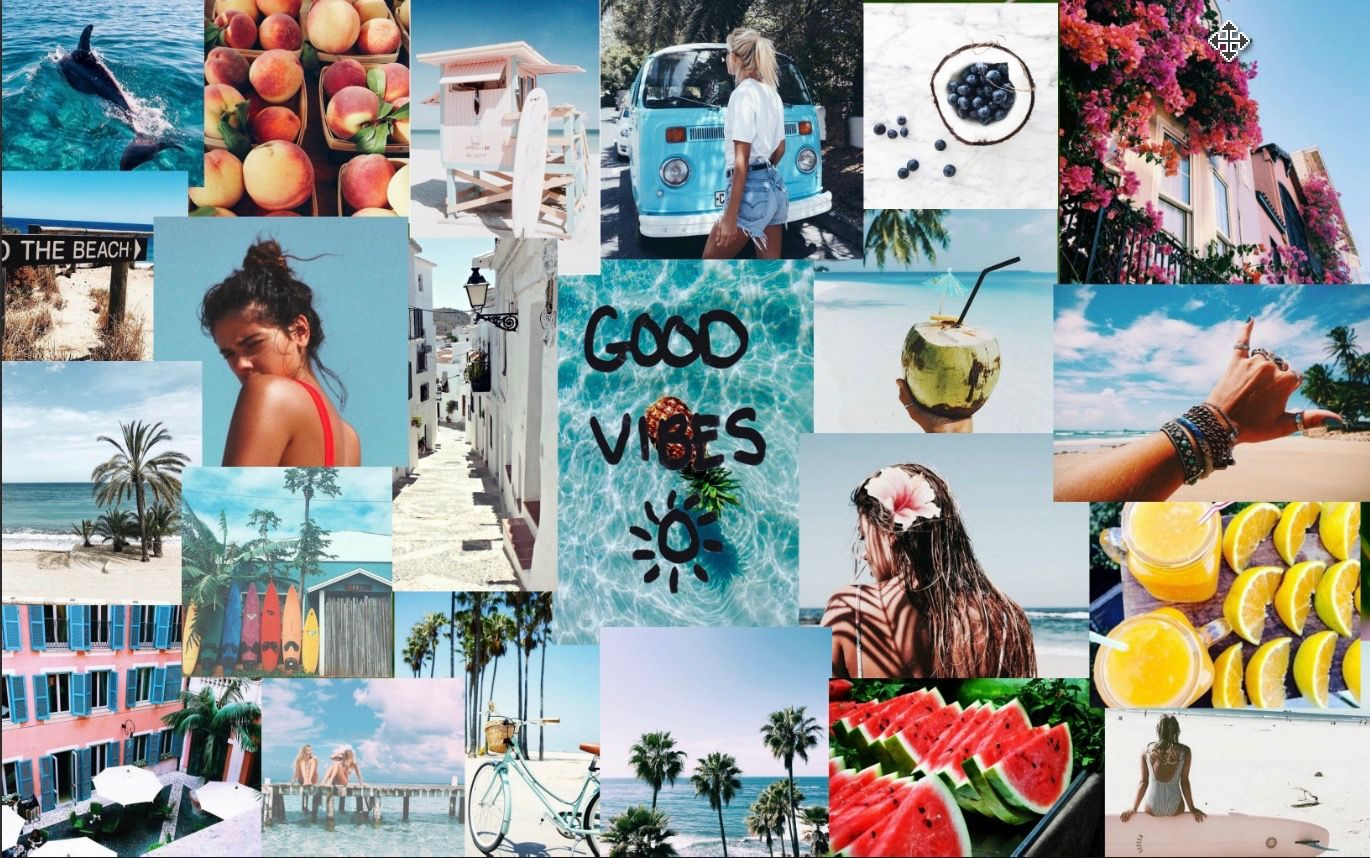 Summer Vibes Macbook Wallpaper Macbook Wallpaper Desktop