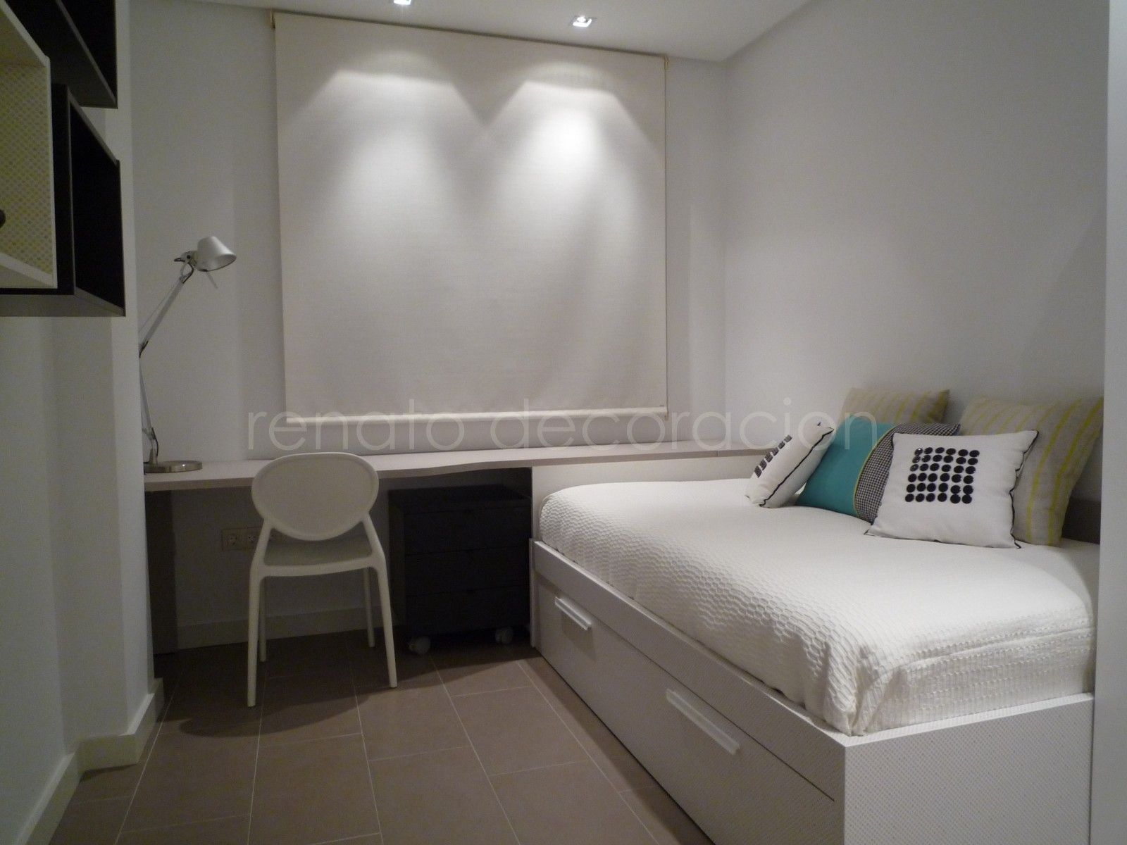 cortinas dormitorio decoracion juvenil cuartos juveniles dormitorios juveniles decoration youth youth rooms youth bedroom - Cortinas Habitacion Juvenil