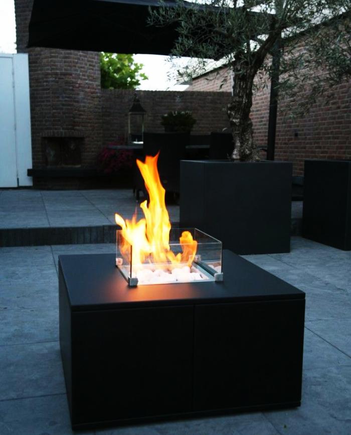 Gardenflame Lounge Vuurtafel Feuerstelle Garten Feuertisch Garten