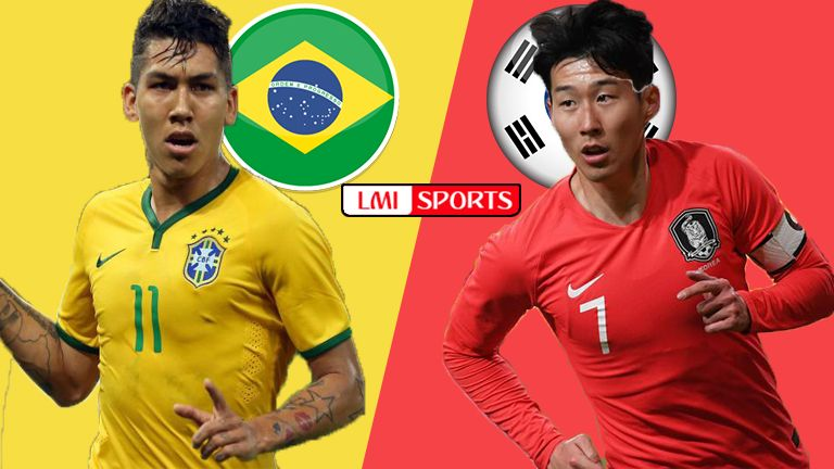 LIVE! Brazil vs Korea Republic Reddit Soccer Streams in