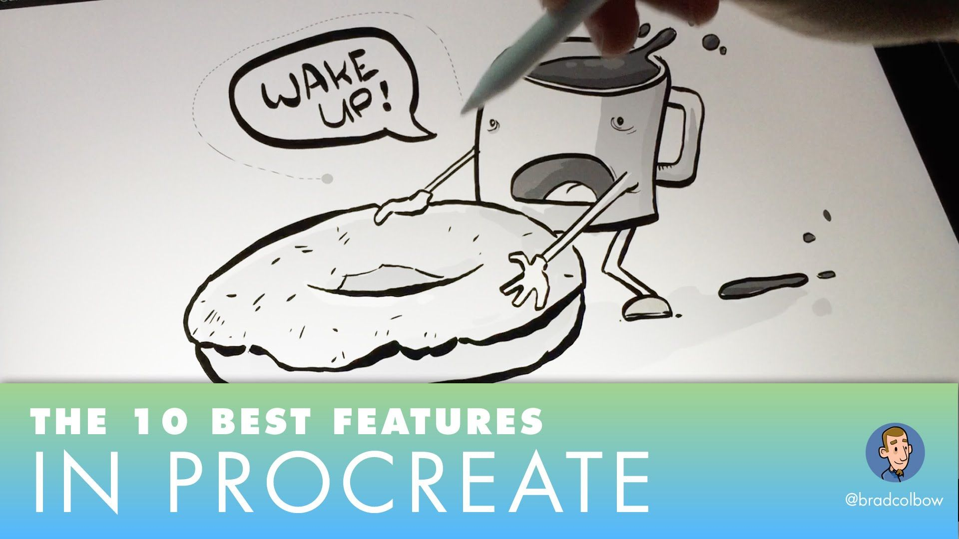 Procreate S 10 Best Features Draw Straight Lines Paint Bucket Tool Gradients And More Youtube Procreate Tutorial Procreate Ipad Pro Procreate Ipad