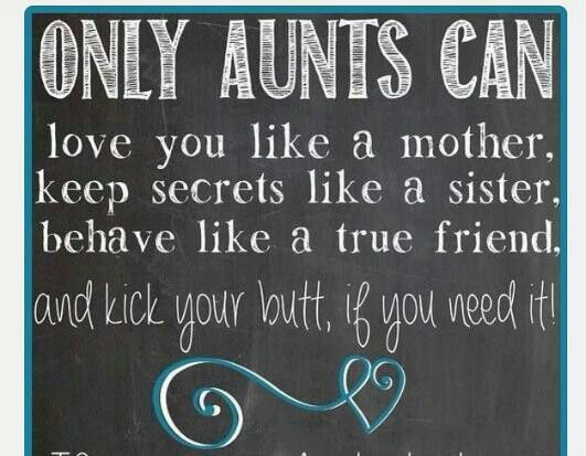 Cute Aunt And Nephew Quotes: Yeah That's Pretty True Love My Aunts @Tammy BigJims