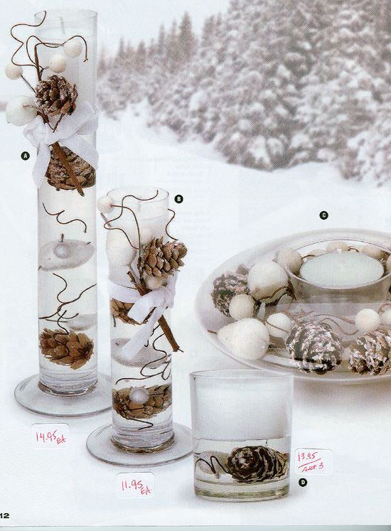 Mirror Tiles For Table Decorations Best Holiday Centerpieces Are A Snap When You Use The Round Bowl Design Decorating Inspiration