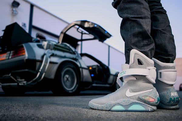 chaussures retour vers le futur nike