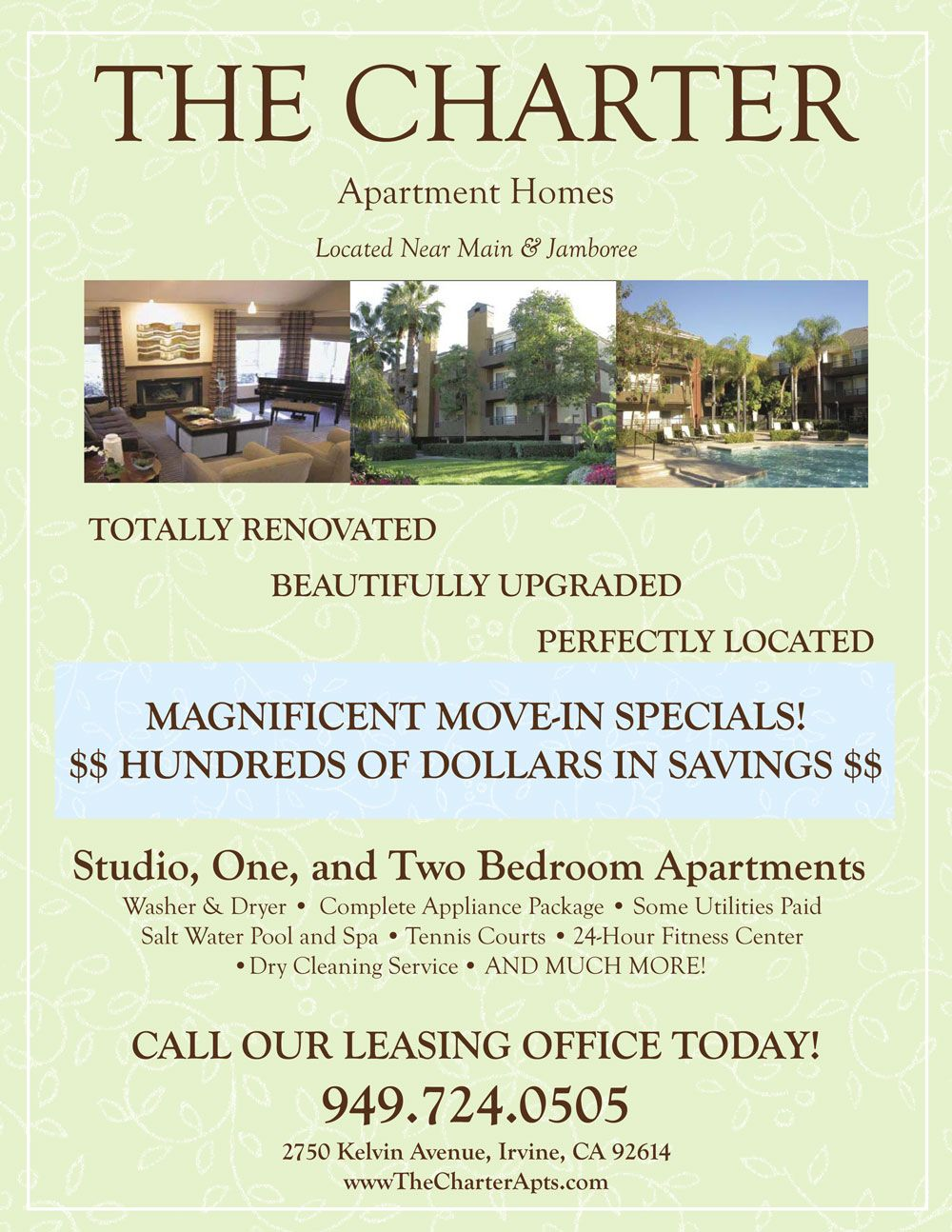 Move In Specials Apartment Flyer Apartment Marketing Marketing