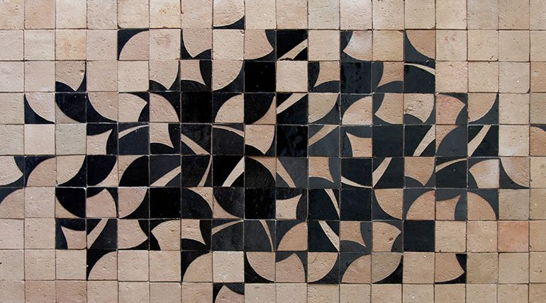 Ateliers zelij piastrelle marocchine di design walls